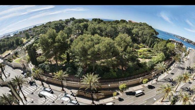 Obren+els+jardins+de+Marivent