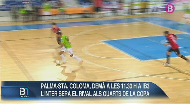 El+Palma+Futsal+rep+el+Santa+Coloma+en+directe+per+IB3
