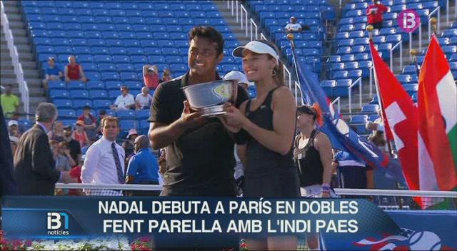 Nadal+debuta+a+Par%C3%ADs+en+dobles+fent+parella+amb+Paes