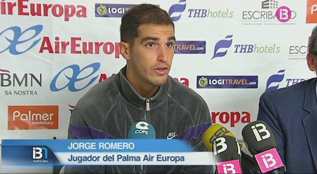 El+Palma+Air+Europa+presenta+l%27escorta+Jorge+Romero