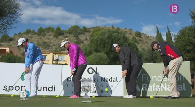 Rafel+Nadal+fa+la+treta+d%27honor+del+torneig+de+golf+ben%C3%A8fic+al+Pula+Golf