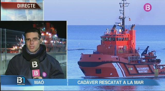 Salvament+Mar%C3%ADtim+ha+rescatat+el+cad%C3%A0ver+del+tripulant+franc%C3%A8s+que+va+caure+a+la+mar+a+Menorca