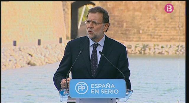 Mariano+Rajoy+ha+participat+en+un+acte+electoral+del+Partit+Popular+a+Palma