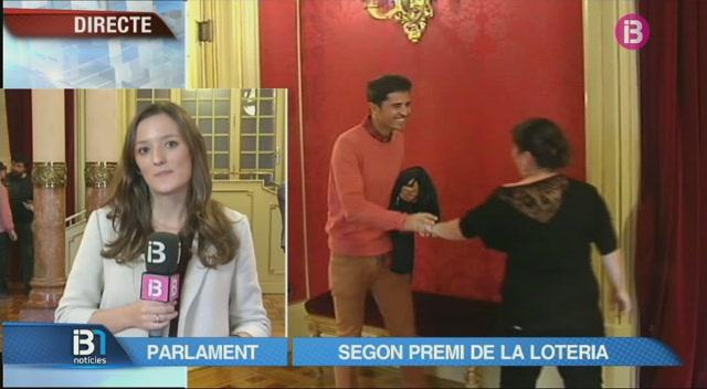 El+segon+premi+de+la+loteria+arriba+al+Parlament