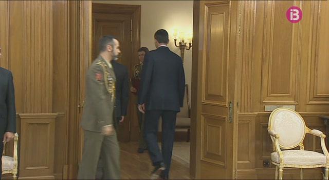 El+rei+Felip+ha+rebut+els+nous+presidents+del+Congr%C3%A9s+i+del+Senat+avui+demat%C3%AD+a+La+Zarzuela
