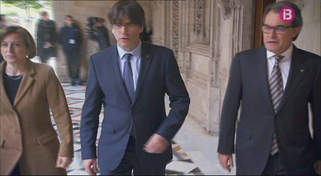 Els+nous+consellers+de+la+Generalitat+de+Catalunya+han+pres+possessi%C3%B3+avui+del+c%C3%A0rrec