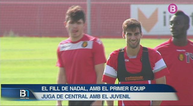 El+fill+de+Miquel+%C3%80ngel+Nadal+entrena+amb+el+primer+equip+del+Mallorca