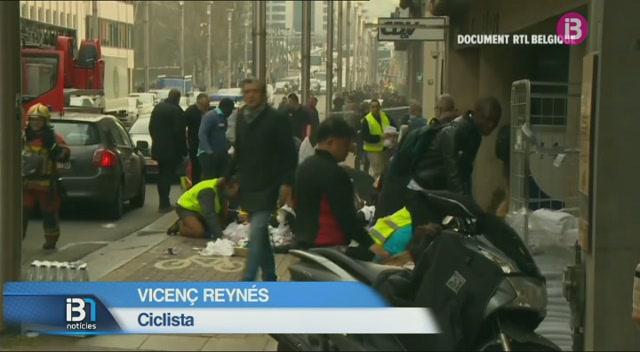 El+ciclista+Vicen%C3%A7+Reyn%C3%A9s%2C+testimoni+directe+dels+atemptats+de+Brussel%C2%B7les