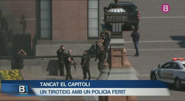 Van+tancar+el+Capitoli+a+Washington+degut+a+un+tiroteig