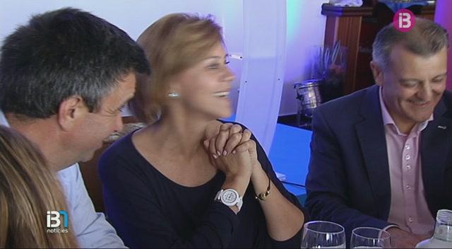 Mar%C3%ADa+Dolores+de+Cospedal+ha+visitat+Menorca+a+la+recta+final+de+la+precampanya