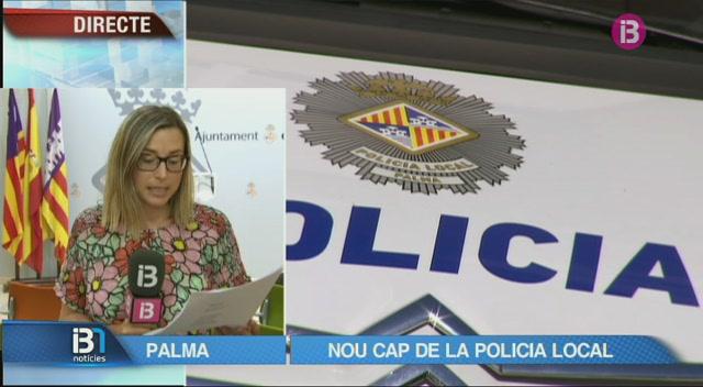 Josep+Palouzi%C3%A9%2C+nou+cap+de+la+Policia+Local+de+Palma