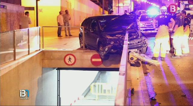 Accident+amb+fugida+a+Palma