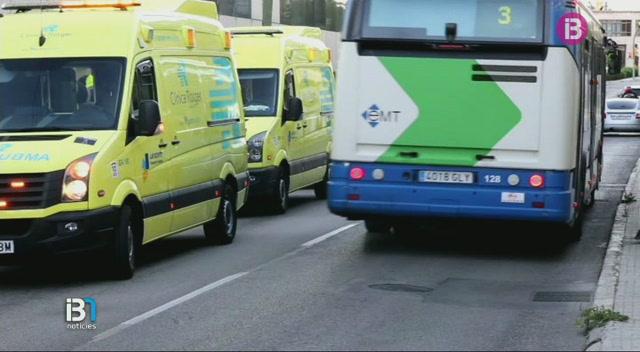 Dos+autobusos+de+l%27EMT+de+Palma+han+tengut+un+accident+aquest+diumenge