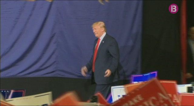 Trump+i+Clinton+empaten+a+les+enquestes