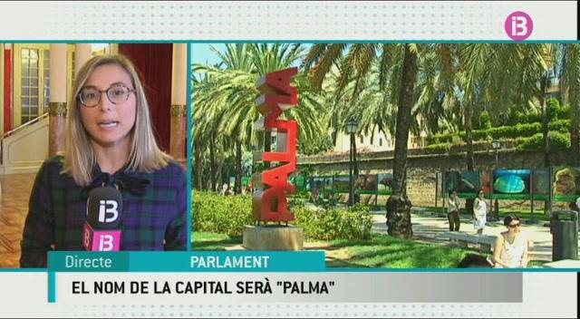 Palma+torna+a+ser+el+nom+oficial+de+la+capital+de+les+Illes+Balears