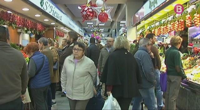 El+centre+de+Palma+%C3%A9s+ple+per+les+compres+de+Nadal