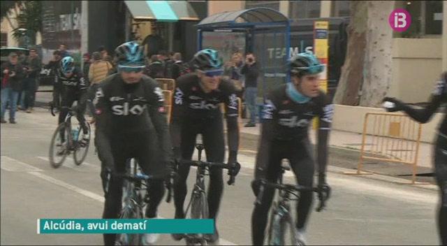 L%27equip+ciclista+Sky+prepara+l%27inici+de+la+temporada+a+Mallorca