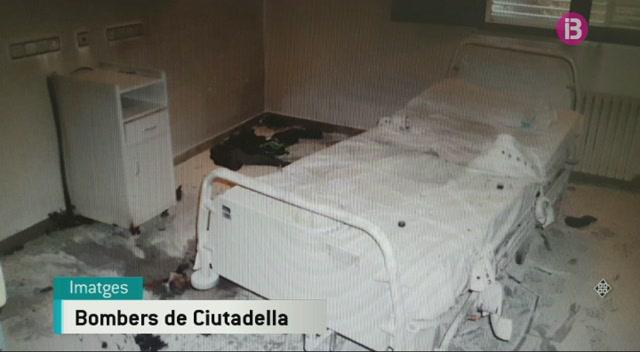 Un+intern+provoca+un+incendi+al+centre+de+salut+mental+Sant+Miquel+de+Ciutadella