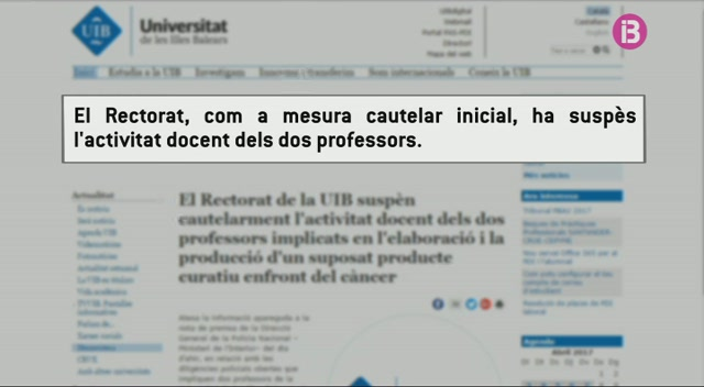 Suspesos+cautelarment+d%27activitat+docent+els+professors+implicats+en+la+venda+del+Minerval
