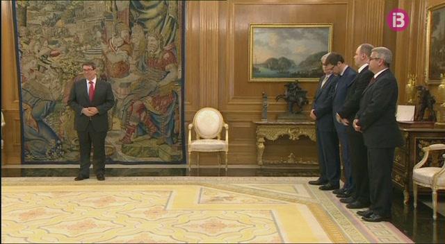 El+rei+rep+a+la+Zarzuela+al+ministre+d%27Exteriors+cub%C3%A0