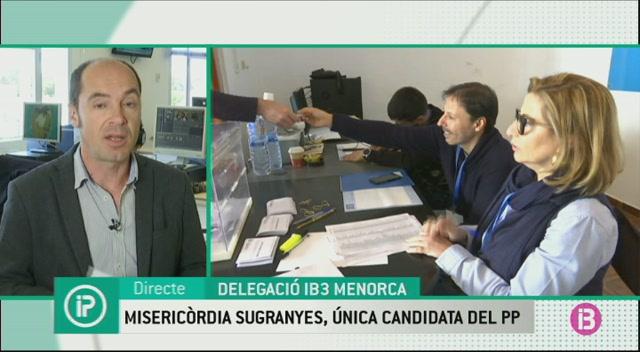 Sugra%C3%B1es%2C+%C3%BAnica+candidata+a+presidir+el+Partit+Popular+a+Menorca