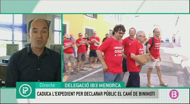 Caduca+l%27expedient+per+declarar+p%C3%BAblic+el+cam%C3%AD+de+Binimoti+a+Ferreries