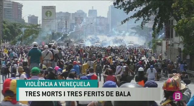 Tres+morts+i+tres+ferits+de+bala+a+Vene%C3%A7uela+en+la+darrera+jornada+de+protestes