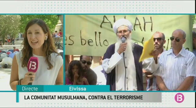 Un+centenar+de+membres+de+la+comunitat+musulmana+a+Eivissa+es+manifesten+contra+els+atemptats