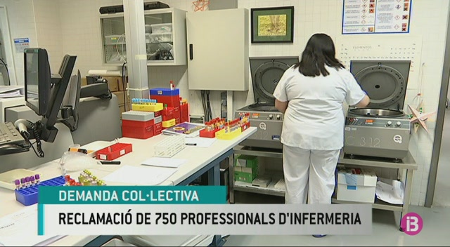 El+sindicat+d%27infermeria+demanda+l%27Ib-Salut+per+la+carrera+professional