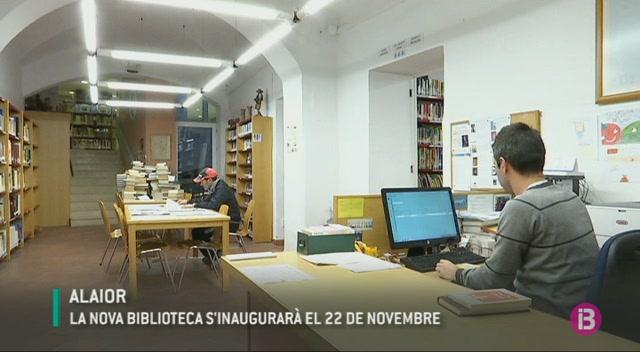 La+biblioteca+d%27Alaior+tanca+dues+setmanes+per+obres