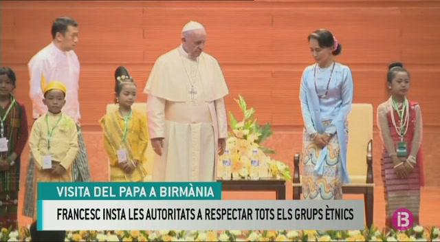 El+papa+Francesc+insta+a+les+autoritats+birmanes+a+respectar+tots+els+grups+%C3%A8tnics
