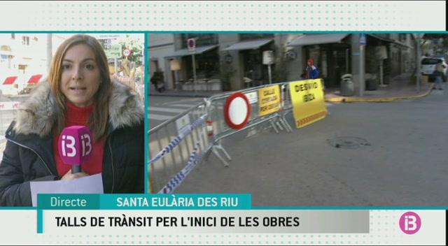 La+segona+fase+de+les+obres+a+Santa+Eul%C3%A0ria+obliga+a+tallar+el+carrer+Sant+Jaume