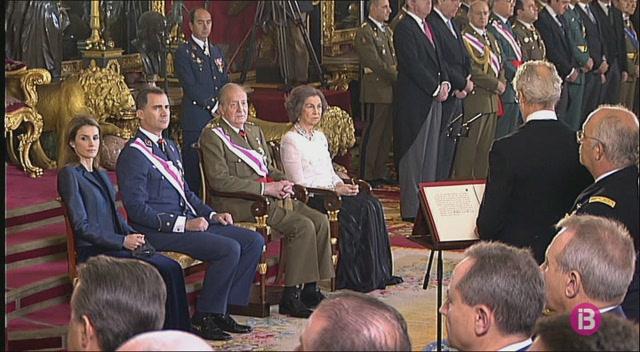 Joan+Carles+i+Sof%C3%ADa+assistiran+dissabte+a+la+Pasqua+Militar+al+Palau+Reial+de+Madrid