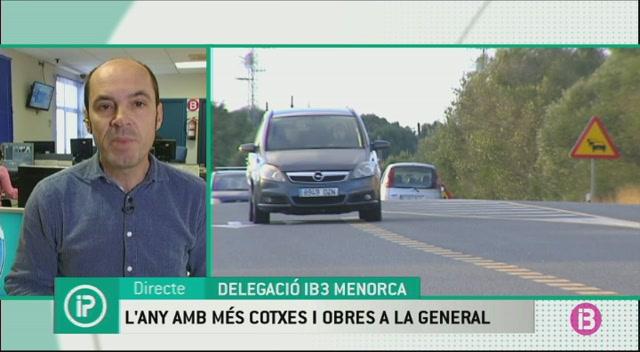 La+carretera+general+de+Menorca+suporta+m%C3%A9s+tr%C3%A0nsit+que+mai+en+l%27any+amb+m%C3%A9s+obres
