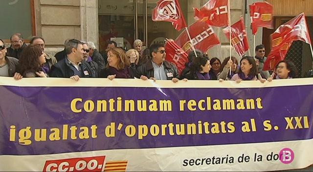 El+Govern+i+els+sindicats+acorden+els+serveis+m%C3%ADnims+per+a+la+vaga+del+Dia+de+la+Dona