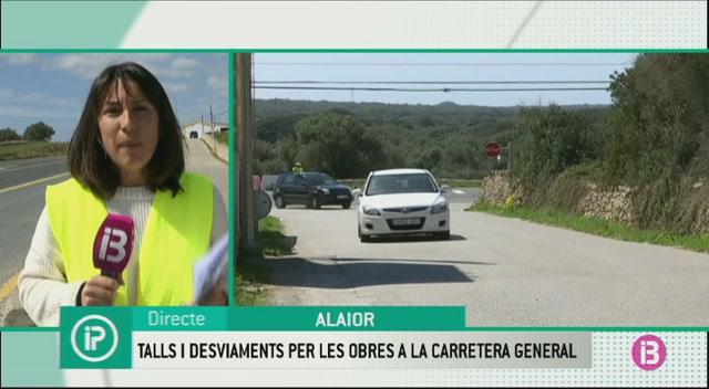 Les+obres+de+la+carretera+general+de+Menorca+causen+talls+de+circulaci%C3%B3