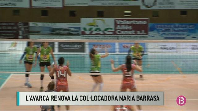L%27Avarca+de+Menorca+renova+la+col.locadora+Mar%C3%ADa+Barrasa