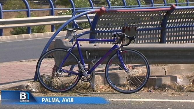 Un+ciclista+ha+estat+atropellat+a+la+rotonda+de+sa+Vileta%2C+a+Palma