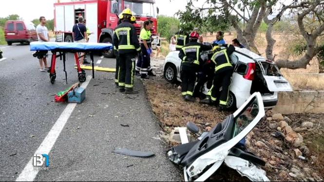 4+persones+ferides+en+un+accident+de+tr%C3%A0nsit+a+la+carretera+de+Llucmajor