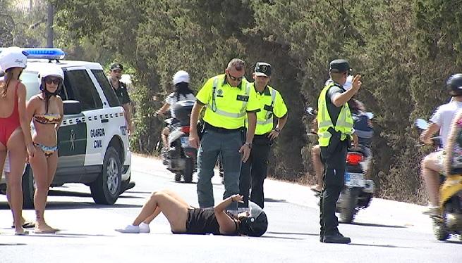 Dos+accidents+simultanis+amb+ferits+a+Formentera