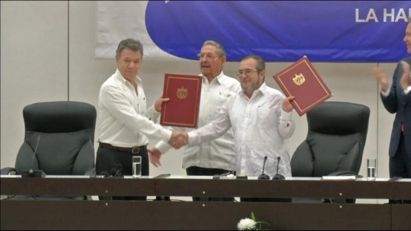 Acord+per+la+pau+entre+Col%C3%B2mbia+i+la+guerrilla+de+les+FARC
