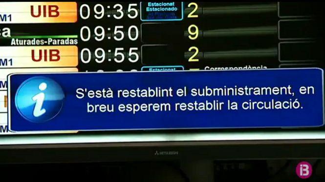 Una+nova+avaria+col%C2%B7lapsa+la+xarxa+el%C3%A8ctrica+dels+trens++a+Mallorca