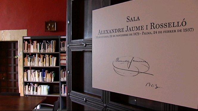S%E2%80%99inaugura+la+sala+de+la+biblioteca+Alexandre+Jaume+al+castell+de+Bellver
