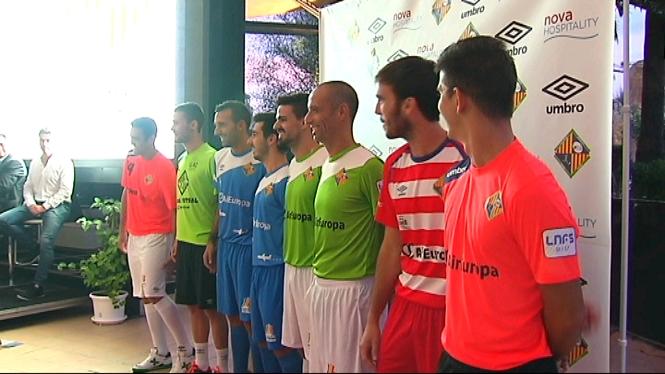 El+Palma+Futsal+sorpr%C3%A8n+amb+la+segona+equipaci%C3%B3+per+a+aquesta+temporada