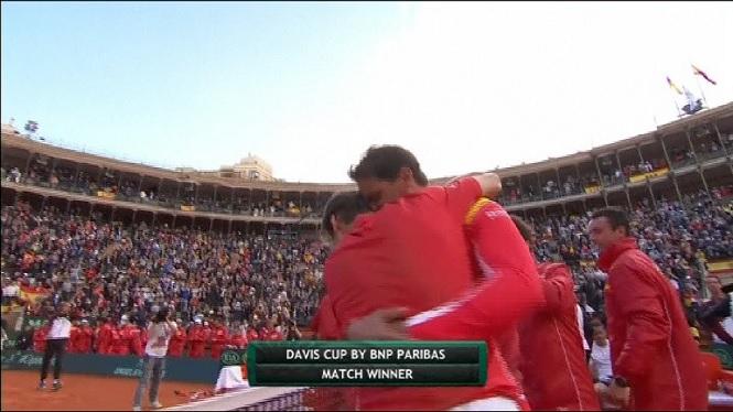 Nadal+i+Ferrer+classifiquen+Espanya+per+a+les+semifinals+de+la+Davis