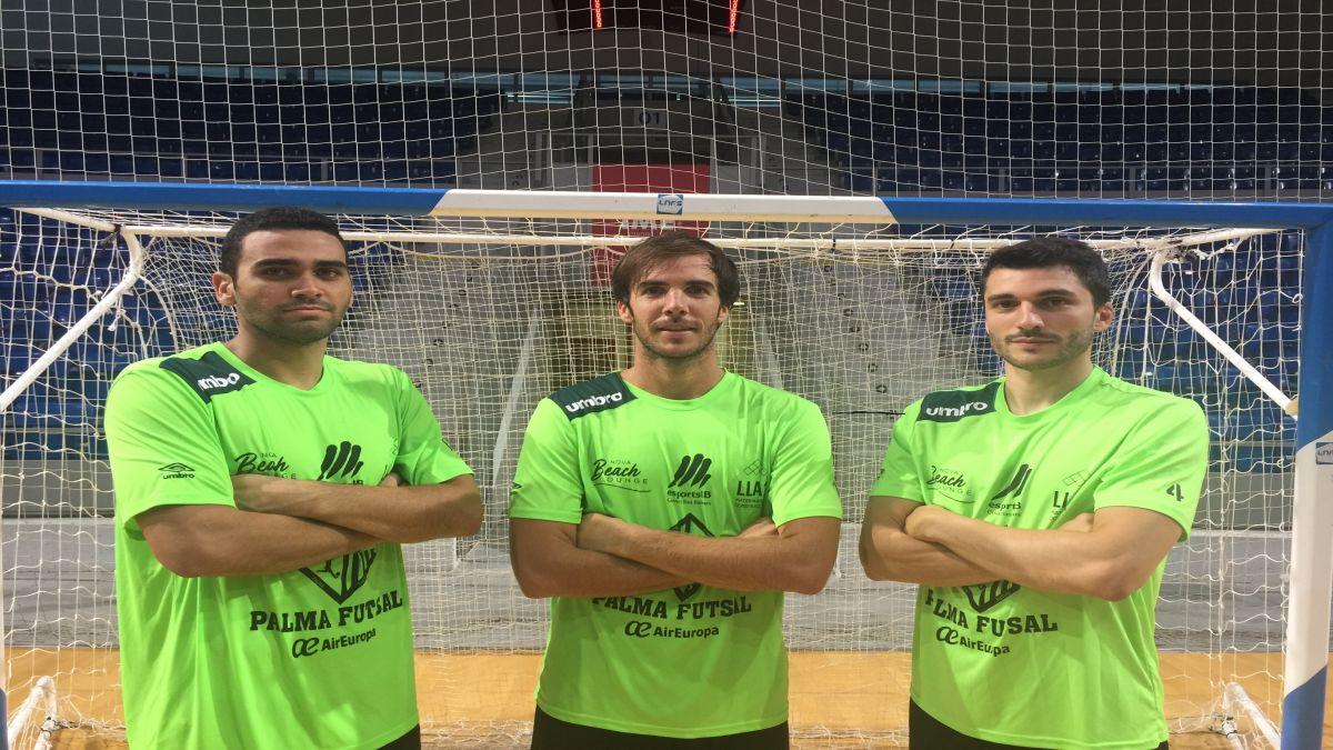 El+Palma+Futsal+tria+capitans