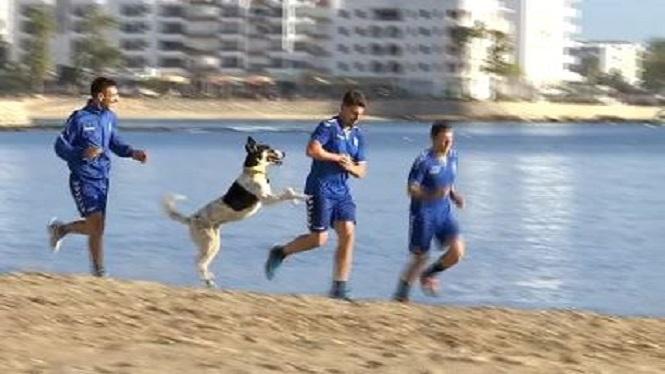 Entrenament+a+la+platja+de+la+Penya+Esportiva