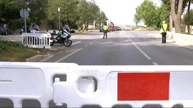 Vies+tancades+a+Mallorca+per+una+prova+ciclista
