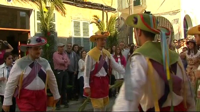 Manacor+celebra+la+primera+sortida+dels+Cossiers