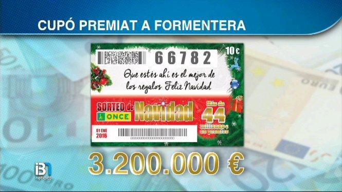 El+Sorteig+de+Nadal+de+l%27ONCE+ha+deixat+un+premi+de+3.200.000+euros+a+Formentera